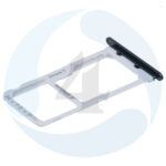 Huawei Honor 9 STF L09 Sim tray Micro SD tray Black 51661 FUX
