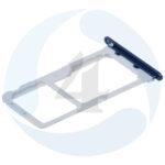 Huawei Honor 9 STF L09 Sim tray Micro SD tray blue 51661 FUX