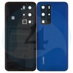 Huawei P40 Pro ELS NX9 Battery Cover Deep Sea Blue 1000x1000h