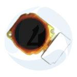 Huawei P40 lite E finger scanner black