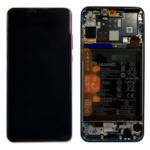 Huawei p30 lite Display lcd scherm servicepack battery met frame blackk