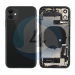 Iphone 11 backcover housing Black