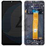 LCD Service Pack Black For Samsung Galaxy A12 SM A125 GH82 24491 A