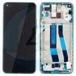LCD Service Pack Mint Green For Xiaomi Mi 11 Lite 5 G M2101 K9 G scherm display