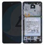 LCD Service Pack Violet For Samsung Galaxy A52 SM A525 GH82 25230 C scherm screen