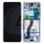 LCD Service Pack White For Samsung Galaxy S21 Ultra 5 G SM G998 GH82 24591 B