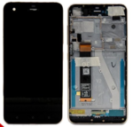 LCD Touch Frame Black For HTC Desire 10 Pro