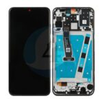 LCD Touch Frame Black For Huawei P30 Lite