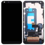 LCD Touch Frame Black For LG Q6 M700 N scherm display