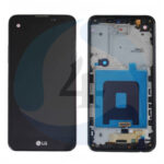 LCD Touch Frame Black For LG X Screen K500 N