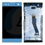 LCD Touch Frame Blue For Sony Xperia XA2 Plus