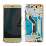 LCD Touch Frame Gold For Huawei P8 Lite 2017