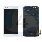 LCD Touch Frame White For LG K7 2017 X230