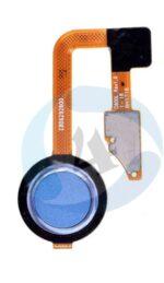 LG G6 fingerprint sensor blauw