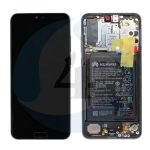 Lcd Original Service Pack Black For Huawei P20 Pro