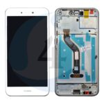 Lcd Touch Frame White For Huawei P8 Lite 2017