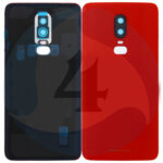 Oneplus 6 Battery Cover Amber Red