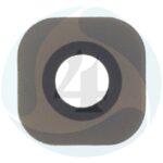 Originele Glazen Camera Lens voor Samsung Galaxy S6 s6 edge Vervanging Deel met Sticker Goud Zwart