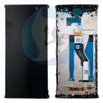 SONY XA2 Plus LCD touch frame zwart