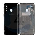 Samsung Galaxy A202 A20e backcover black