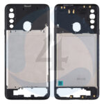 Samsung Galaxy A20s SM A207s F DS Middle Frame Bezel Plate Cover black