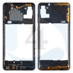Samsung Galaxy A21s SM A217 F DS Middle Frame Bezel Plate Cover black