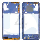 Samsung Galaxy A21s SM A217 F DS Middle Frame Bezel Plate Cover blue