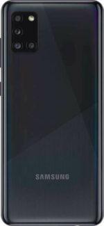 Samsung Galaxy A315 A31 Backcover Black