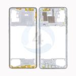 Samsung Galaxy A715 Middle Frame silver