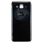 Samsung Galaxy J7 SM J700 F Backcover batterij cover Black