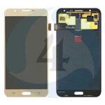 Samsung Galaxy J7 SM J700 F Display plus Touchscreen Complete Gold