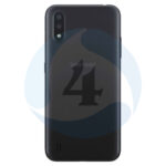 Samsung Galaxy M015 M01 backcover black