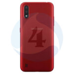 Samsung Galaxy M015 M01 backcover red