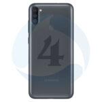 Samsung Galaxy M115 M11 Backcover batterij cover black