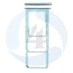 Samsung Galaxy M21 SM M215 F sim tray Blue