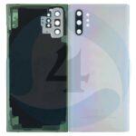 Samsung Galaxy Note 10 Plus SM N975 F Battery cover Aura Glow silver