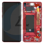 Samsung Galaxy S10 G973 Lcd Display Scherm Screen service pack Red
