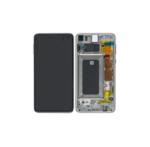 Samsung Galaxy S10e G970 service pack Lcd screen display scherm White