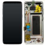 Samsung Galaxy S8 G950 service pack Lcd display Scherm Screen Silver
