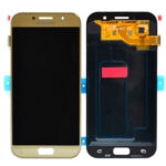 Samsung Galaxy gold A520 A5 2017 Display lcd Screen Scherm service pack