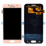 Samsung galaxy A320 A3 2017 Display lcd screen scherm pink