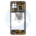 Samsung galaxy A42 A426f Middle chassis frame bezel black plate housing frame black