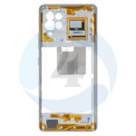 Samsung galaxy A42 A426f Middle chassis frame bezel black plate housing frame white