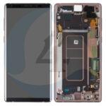 Samsung galaxy note 9 N960 service pack lcd scherm display screen brown