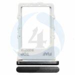 Sim Tray Black For Samsung Galaxy Z Fold 2 5 G SM F916