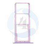Sim Tray Purple For Samsung Galaxy A11 SM A115