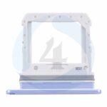 Sim Tray Purple For Samsung Galaxy Z Flip SM F700