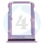 Sim Tray Purple For Xiaomi Mi 9se