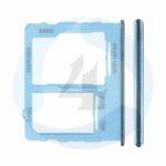 Sim Tray blue For Samsung Galaxy A32 5 G SM A326