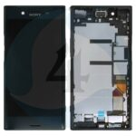 Sony xperia XZ Premuim lcd scherm display with frame black